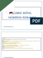 Libro Móvil Numeros Romanos