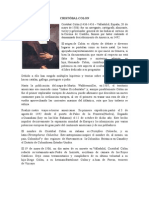 Biografia Cristóbal Colon