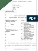 Puretek v. Patchwerx - trademark complaint.pdf