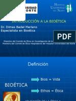 Introduccion a la bioetica