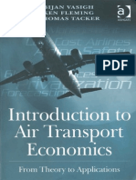 Introduction to Air Transport Economics_From Theory to Applications