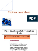 Regional Blocks