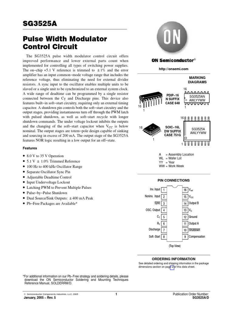Sg3525 On Capacitor Amplifier Dc Motor Controller By