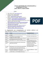 Listado de Resultados - Comunicaciones - Enero 2014 - Marzo 2015