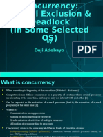 OS Concurrency