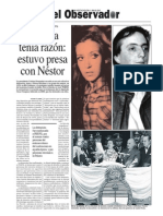Cristina tenía razón, estuvo presa con Néstor Kirchner