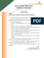 ATPS - Serviço Social e Conselhos Gestores de Políticas Públicas