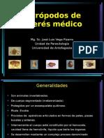 Artròpodos de Intères Mèdico