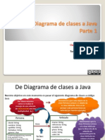 UML a Clases Java