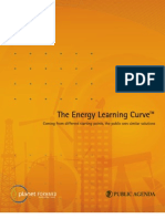 The Energy Learning Curve