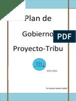 Plan de gobierno 2015-2016