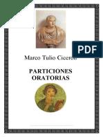 Marco Tulio Ciceron Particiones Oratorias