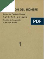 Patricio Aylwin Por La Liberacion Del Hombre