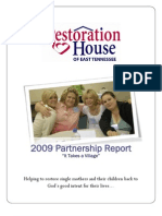 2009 Partnership Report