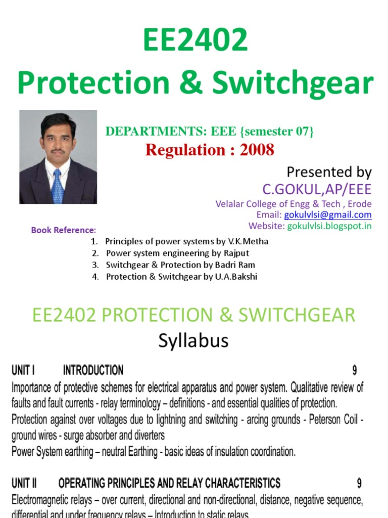 Protection And Switchgear Relay Electric Power System Circuitlab Auto Off Generator Switch