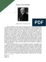 Bergson e a força da Filosofia - Amauri Ferreira (PDF)