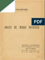 Ulises Correa Analisis Analisis Del Discurso Presidencial