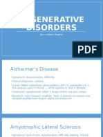 Degenerative Disorders