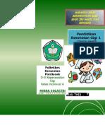 leaflet makanan Yang Menyehatkan Gigi Ibu Hamil Dan Menyusui