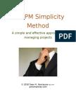 Project Management Simplicity