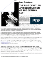 Trotsky, Leon - The Rise of German Fascism