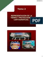 Representación de La Tierra y Proyecciones Cartográficas