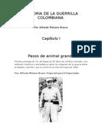 Historia de La Guerrilla en Colombia
