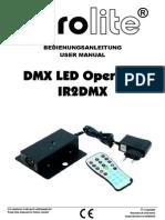 LEDOperatorIR2DMX