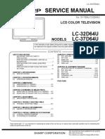 Sharp Lc 32d64u, Lc 37d64u