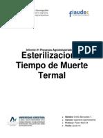 esterilizacion y tiempo de muerte termal