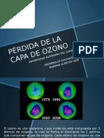 Pérdida de La Capa de Ozono