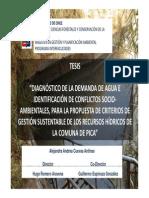 TESIS CHILE - Conflictos por el agua, no claridad de usos, no institucionalidad, se necesita de gestión.pdf