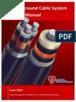 TNB - UG Cable System Design Manual (GI Crossing)