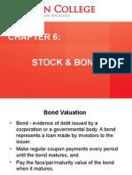 Chapter 6 - Stock & Bond