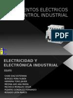 Elementos Eléctricos de Control Industrial