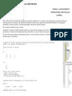 Iterative Methods