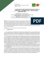 Optimizacion de Eficiencia en Paneles Fotovoltaicos Mediante Enfriamiento.