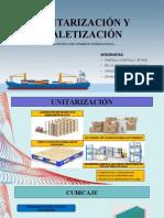 Unitarización y Paletización Final