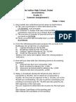 accountancy worksheet practice