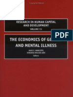 The Economics of Gender and Mental Illness - Dave Marcotte