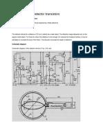 A Simple Metal Detector Transistors