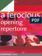 A Ferocious Opening Repertoire chess- Cyrus Lakdawala