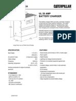 (LEHE0140) Cargador de Baterias CAT