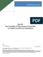 Polypropylene Geotextiles