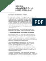 Qué Ha Cambiado en La Cristología Católica