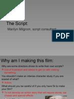 The Script by Marilyn Milgrom