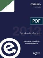 Informe Del Mercado de Alimentos Brasil 2012