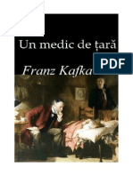 Franz Kafka - Un Medic de Tara