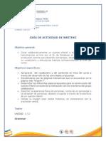 Guía de Actividad de Writing- 16-02