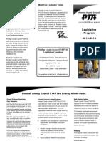PCCPTA 2015-2016 Legislative Brochure Final